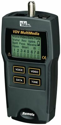 Ideal 33-856 Vdv Multimedia Cable Tester - New