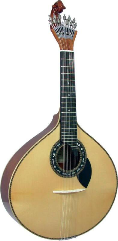 Carvalho Portuguese-made 12 String GUITARRA 305 Solid Spruce top. From Hobgoblin