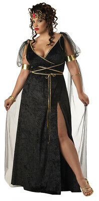 Adult Medusa Roman Greek Goddess Costume Plus Size](Roman Greek Goddess)