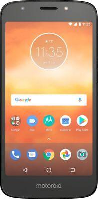 Verizon - Moto E5 Play with 16GB Memory Prepaid Cell Phone - Black