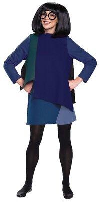 Edna Incredibles Actionfigur Puppe in Luxus Kostüm Erwachsene Tunika Verkleidung