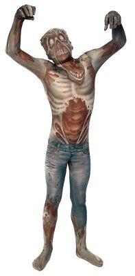 Verkleidung Zombie Erwachsene Kostüm Körperanzug Morph-Anzug Alien Monster