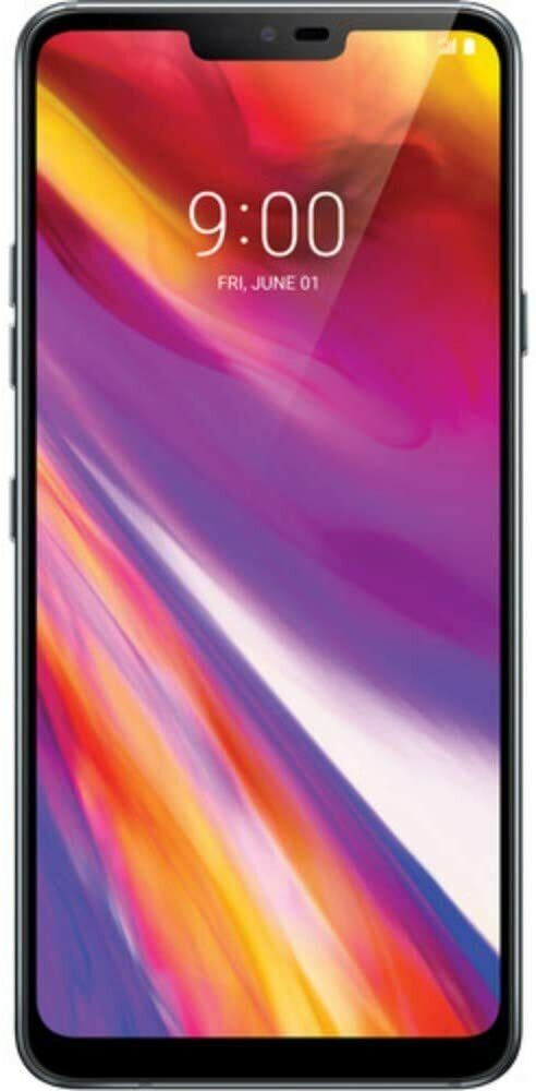 Android Phone - LG Electronics G7 ThinQ Factory Unlocked 6.1in Screen 64GB Platinum Grey