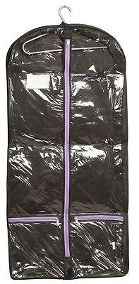 Schwarz und Lila Kleidungsstück Kleid Outfit Tanzkostüm Schutzabdeckung von - Tanz Outfits Und Kostüm