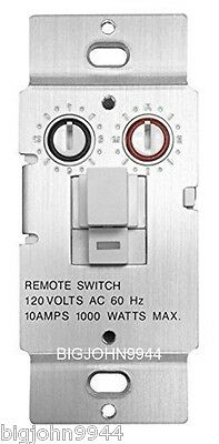 X10 WS469 Non-Dimming Pushbutton Relay Switch For Non-Incandescent Loads