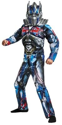 Optimus Prime Halloween Costume (Optimus Prime Child Muscle Costume Boys Transformers)
