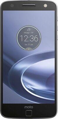 Motorola Moto Z Force Droid XT1650-02 32GB Black/Lunar Grey (Verizon+GSM) B