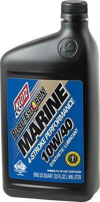 Klotz Marine Estorlin 4 Stroke Engine Oil - 10w/40 - 32oz - 10 Quarts / 1 Case