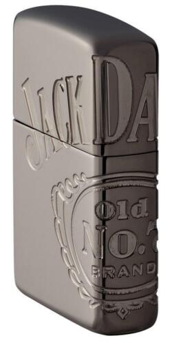 Zippo Armor Lighter With Engraved Wrap Around Jack Daniel