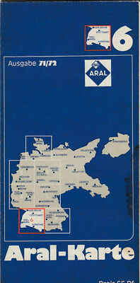 Old Aral Map Edition 71/72 Map 6 (Aral 7)