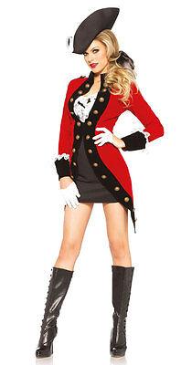 Piraten Lady Grace Damenkostüm Deluxe NEU - Damen Karneval Fasching Verkleidung ()