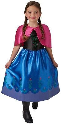 stüm Classic NEU - Mädchen Karneval Fasching Verkleidung Kos (Frozen Kinder Kostüm)