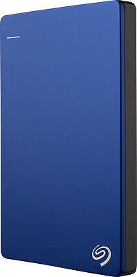 Seagate - Backup Plus Slim 1TB External USB 3.0/2.0 Portable Hard Drive - Blue