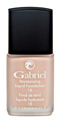 - Gabriel Cosmetics Inc. Moisturizing Liquid Foundation Rose Beige 18 SPF, 1 Oz