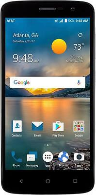 AT&T Prepaid - ZTE Blade Spark 4G with 16GB Memory Prepaid Cell Phone - Grey