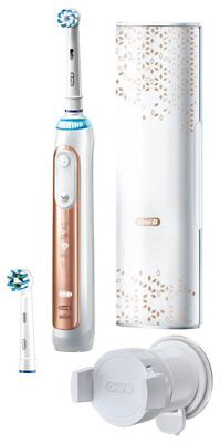 Braun Oral B Electric Toothbrush Genius 9000 Pink Gold, White, Black,or Moroccan