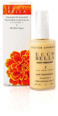 (Ecco Bella Night Rebuilder 5 For All Skin Types With Vitamin Cells - 2 oz Vegan)
