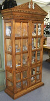 ARMOIRE VITREE BIBLIOTHEQUE BOOK CASE GLASS CHEST CURIO DISPLAYS