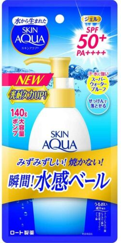 Skin Aqua UV Super Moisture Gel SPF50+/PA++++ Pump 4.93oz (from US warehouse)