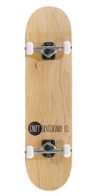ENUFF Logo Stain Skateboard Complete natur NEU 84673