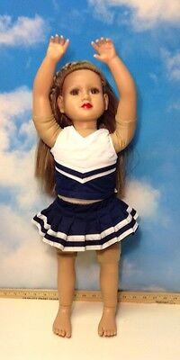 "My Twinn Doll 24"" Blonde Hair & Brown  Eyes"