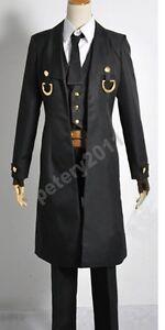 BLAZBLUE Hazama Uniform Cosplay Costume Halloween cloth Hat