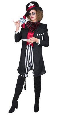 er THE BLACK Hatter Karneval Kostüm Damen