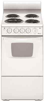 Amana 20-Inch 2.6 cu. ft. White Electric Range Free-Standing AEP222VAW