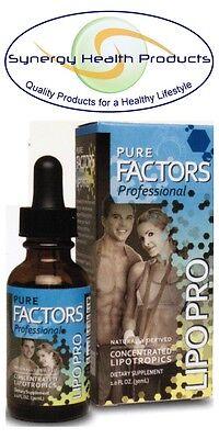 New! Pure Solutions Pure Factors Professional Lipo Pro 1 fl oz. - Lipotropics on Rummage