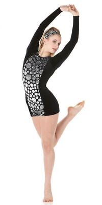 Secrets Dance Costume Long Sleeve Biketard Ballet Tap Clearance Child & Adults