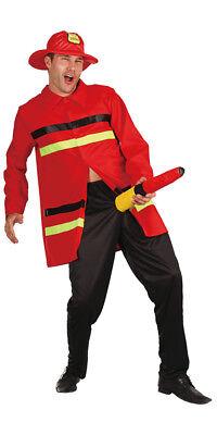 Feuerwehrmann Herrenkostüm Gr.L Karneval Herren Kostüm Männer NEU Versandfrei