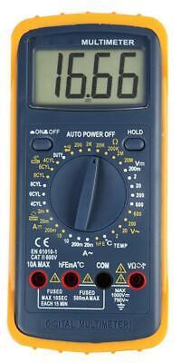 Duratool - D03145 - Multimeter With Automotive Ranges