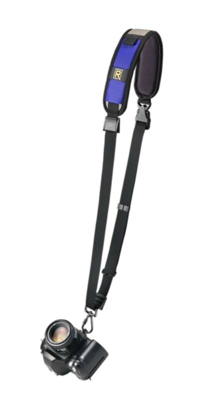 Black Rapid RS-7 Curved Camera Strap w/Connectr-2/Fastener (Cobalt) Ret $69