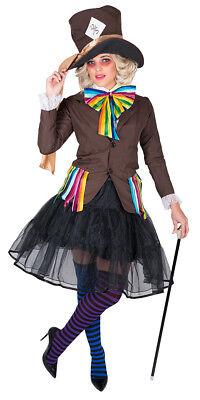 kter Hutmacher Hutmacherin Karneval Fasching Kostüm Gr  M-L-XL (Verrückte Kostüm)