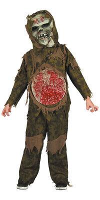 Kinderkostüm Dämon Demon Böser Geist Zombie Karneval Halloween 140 & 152 - Bösen Geistes Kind Kostüm