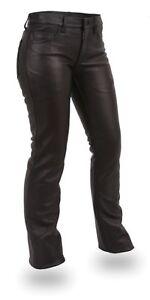 Woman leather pants / Pantalons de cuir pour femme