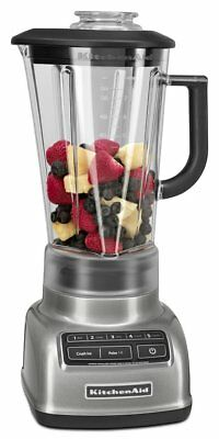 KitchenAid KSB1570CU 5Speed BLENDER 56oz DIAMOND PITCHER - Contour Silver 1575CU