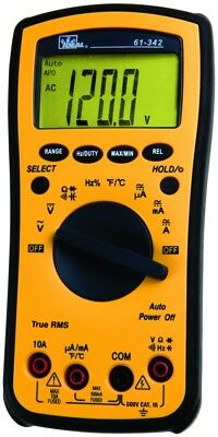 Ideal - 61-340 Test Pro Digital Multimeter With Temp. Capacitance Backlight