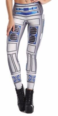 acter One Size Fits Most Novelty Leggings (R2d2 Leggings)