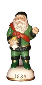 Memories of Santa Collection St. Nicholas w/Doll 1889 Christmas Ornament