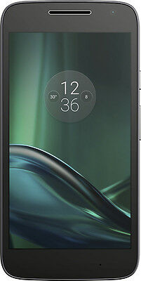 Verizon Prepaid - Moto G4 Play 4G LTE with 16GB Memory Cell Phone - Black
