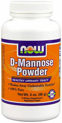 NOW FOODS D MANNOSE Powder -  3 oz bottle  - Urinary tract bladder