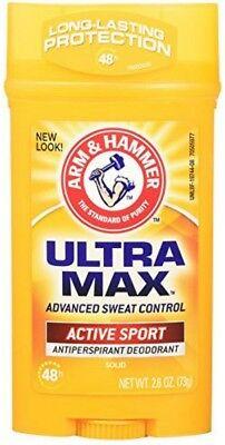 ARM - HAMMER ULTRAMAX Anti-Perspirant Deodorant Active Sport 2.60 oz (Pack of 4)