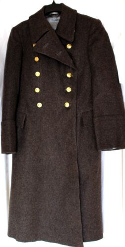 Soviet USSR Russian Military Army Officer Wool Overcoat - Shinel