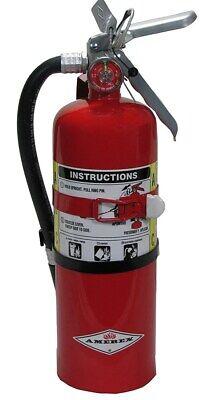 Amerex B402t 5lb Abc Dry Chemical Class A B C Fire Extinguisher Vehicle Bracket