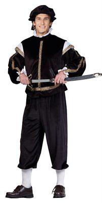 RENAISSANCE PRINCE PHILLIP ROYAL KING ADULT MENS SHAKESPEARE ROMEO COSTUME - Mens King Costume