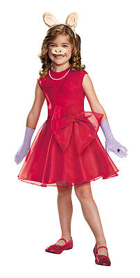 Miss Piggy Classic Child 4-6 Child Girls - Miss Piggy Kids Costume