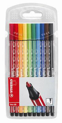 Stabilo Fasermaler 68 Pen Malstift Filzstift Farbsortiert untersch. Stückzahlen