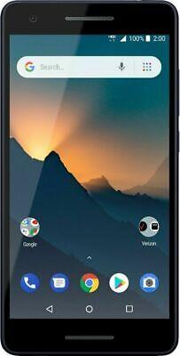 Verizon Prepaid - Nokia 2 V with 8GB Memory Prepaid Cell Phone - Blue/Silver
