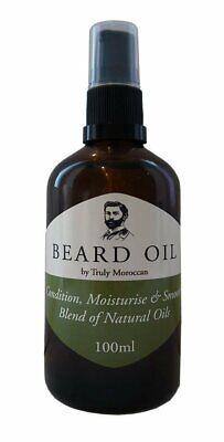 Aceite para la barba, humidifica y mantiene la barba, acción suavizan,100ml